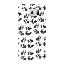 Boston Terriers Playing Phone Case Samsung Galaxy S6 Edge case