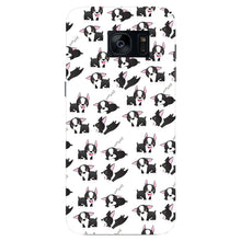 Boston Terriers Playing Phone Case Samsung Galaxy S7 Edge case
