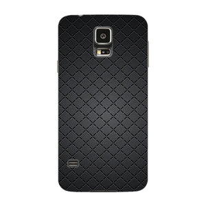 Brushed Black Meta Phone Case Samsung Galaxy S5 case
