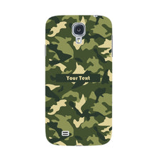Camouflage Custom Phone Case Samsung Galaxy S4 case