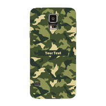 Camouflage Custom Phone Case Samsung Galaxy S5 case