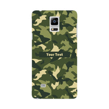 Camouflage Custom Phone Case Samsung Galaxy Note 4 case