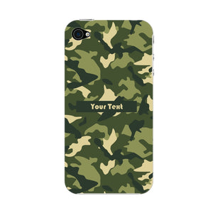 Camouflage Custom Phone Case iPhone 4S case