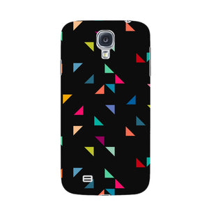 Colored Triangles Pattern Phone Case Samsung Galaxy S4 case
