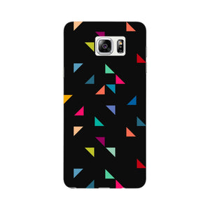 Colored Triangles Pattern Phone Case Samsung Galaxy Note 5 case