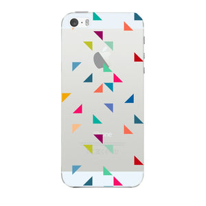 Colored Triangles Pattern Phone Case iPhone 5 case