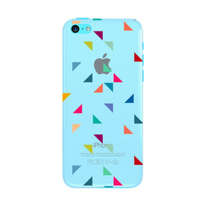 Colored Triangles Pattern Phone Case iPhone 5C case