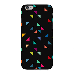 Colored Triangles Pattern Phone Case iPhone 6 case