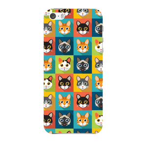 Colorful Cat Faces Phone Case iPhone 5 case
