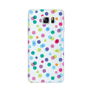 Colorful Dots Phone Case Samsung Galaxy Note 5 case