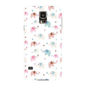 Colorful Elephants Phone Case Samsung Galaxy S5 case
