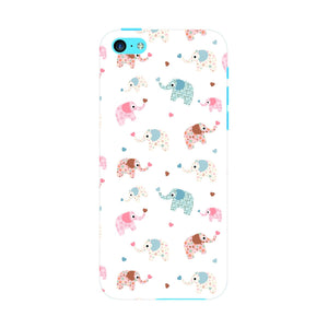 Colorful Elephants Phone Case iPhone 5C case