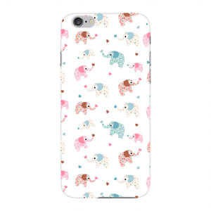 Colorful Elephants Phone Case iPhone 6 case