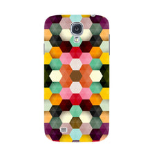 Colorful Geometric Shapes Phone Case Samsung Galaxy S4 case