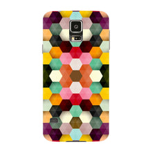 Colorful Geometric Shapes Phone Case Samsung Galaxy S5 case