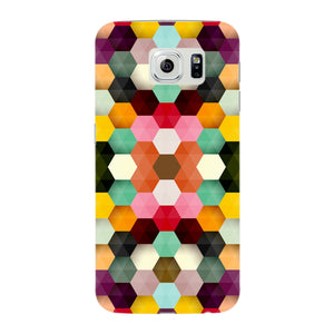 Colorful Geometric Shapes Phone Case Samsung Galaxy S6 Edge case