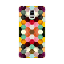 Colorful Geometric Shapes Phone Case Samsung Galaxy Note 4 case