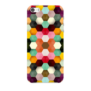 Colorful Geometric Shapes Phone Case iPhone 5 case