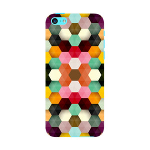 Colorful Geometric Shapes Phone Case iPhone 5C case