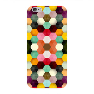 Colorful Geometric Shapes Phone Case iPhone 6 case