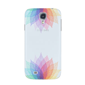 Colorful Leaf Abstract Phone Case Samsung Galaxy S4 case