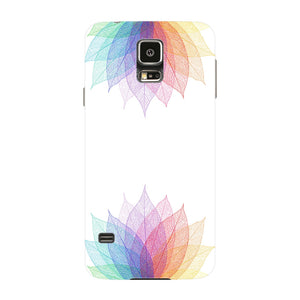 Colorful Leaf Abstract Phone Case Samsung Galaxy S5 case
