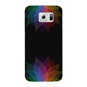 Colorful Leaf Abstract Phone Case Samsung Galaxy S6 Edge case
