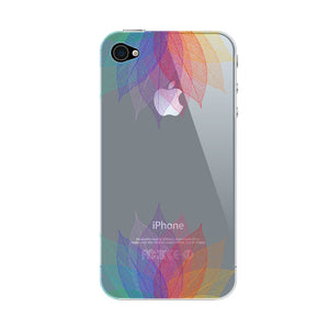 Colorful Leaf Abstract Phone Case iPhone 4S case