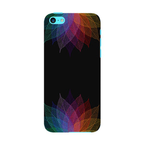 Colorful Leaf Abstract Phone Case iPhone 5C case
