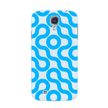 Curved Geometric Pattern Phone Case Samsung Galaxy S4 case