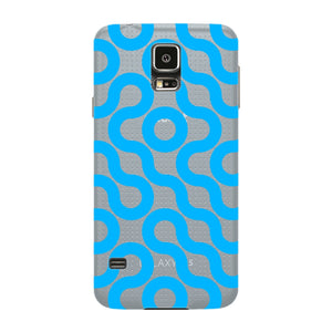 Curved Geometric Pattern Phone Case Samsung Galaxy S5 case