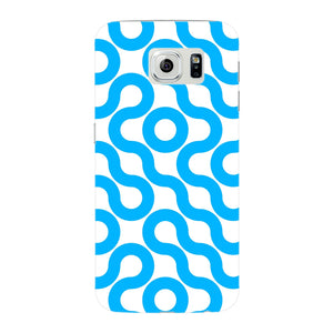 Curved Geometric Pattern Phone Case Samsung Galaxy S6 Edge case