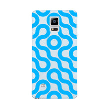Curved Geometric Pattern Phone Case Samsung Galaxy Note 4 case