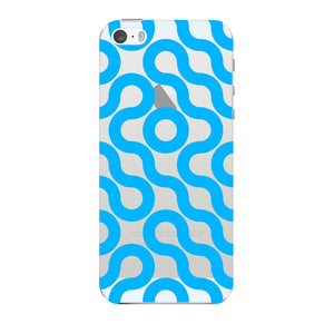 Curved Geometric Pattern Phone Case iPhone 5 case