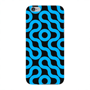 Curved Geometric Pattern Phone Case iPhone 6 case