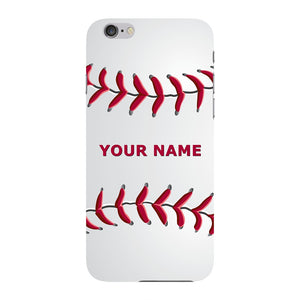 Custom Baseball Pattern Case iPhone 6 case