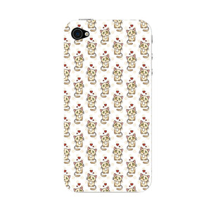 Cute Cats With Hearts Phone Case iPhone 4S case