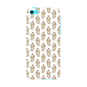 Cute Cats With Hearts Phone Case iPhone 5C case