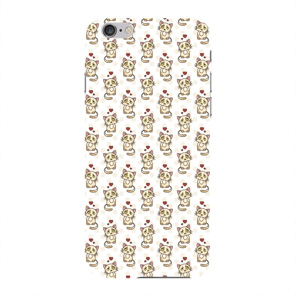 Cute Cats With Hearts Phone Case iPhone 6 case