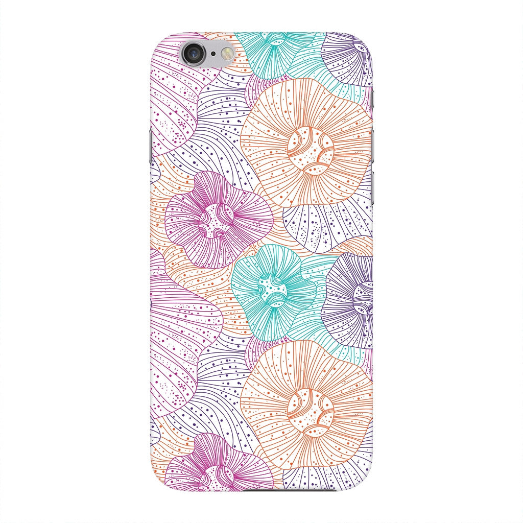 Dotted Floral Outline Phone Case iPhone 6 case