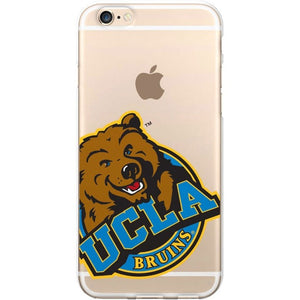 OTM UCLA Bruins Clear Phone Case, Cropped V1