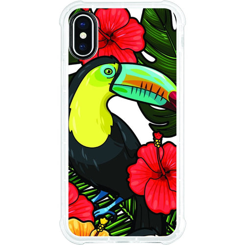 OTM Phone Case, Tough Edge, Bird of Paradise