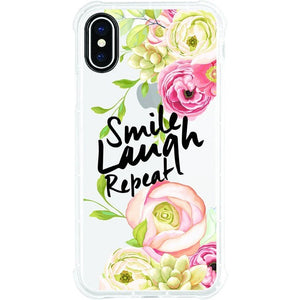 OTM Phone Case, Tough Edge, Smile Laugh Repeat