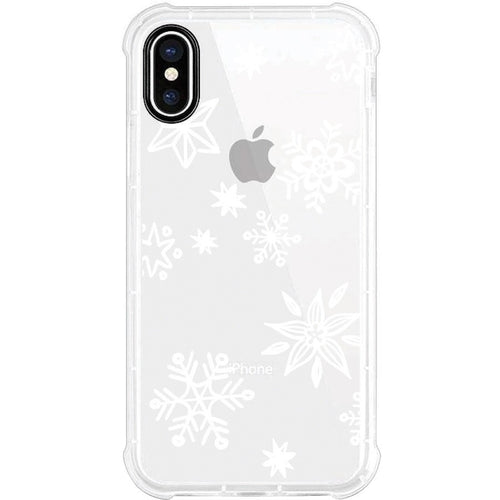 OTM Phone Case, Tough Edge, Snowflakes