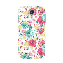 Elegant Flowers Phone Case Samsung Galaxy S4 case