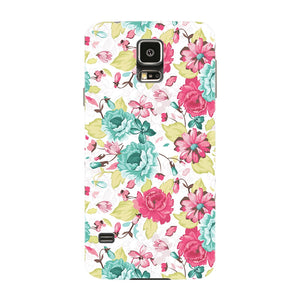 Elegant Flowers Phone Case Samsung Galaxy S5 case