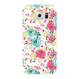 Elegant Flowers Phone Case Samsung Galaxy S6 Edge case