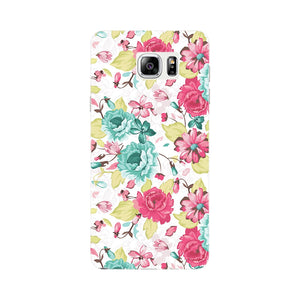 Elegant Flowers Phone Case Samsung Galaxy Note 4 case