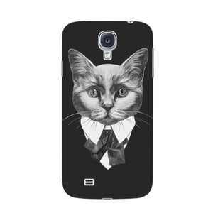 Fashionable Cat Phone Case Samsung Galaxy S4 case