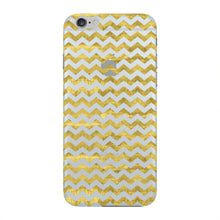 Gold Printed Glitter Waves Phone Case iPhone 6 case
